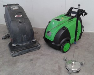 Verhuur reinigingsmachines